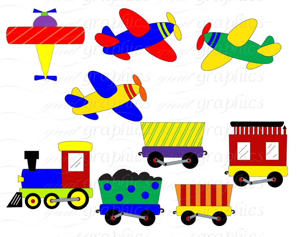 airplane and train clip art digital clipart digital paper helicopter rh greatgraphicsdesigns com digital clipart for teacher digital clipart bundles for cu